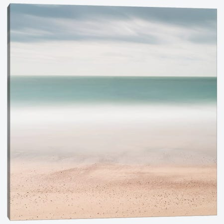 Beach, Sea, Sky Canvas Print #WDR1} by Wilco Dragt Canvas Art
