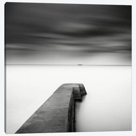 The Jetty-Study #1 Canvas Print #WDR5} by Wilco Dragt Art Print