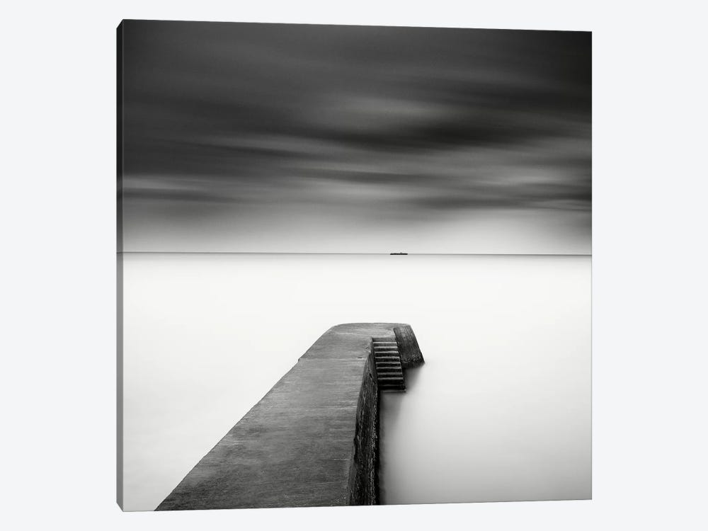 The Jetty-Study #1 by Wilco Dragt 1-piece Canvas Print