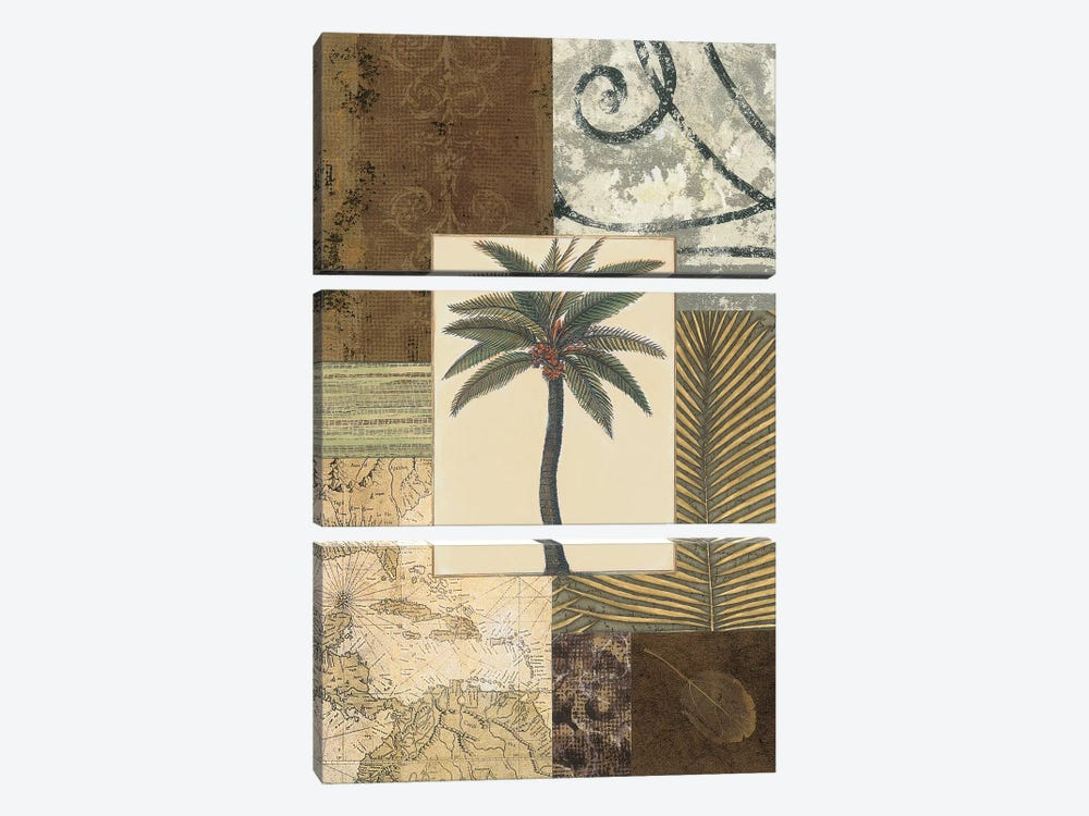 Colonial I by Amy Weaver 3-piece Canvas Art Print