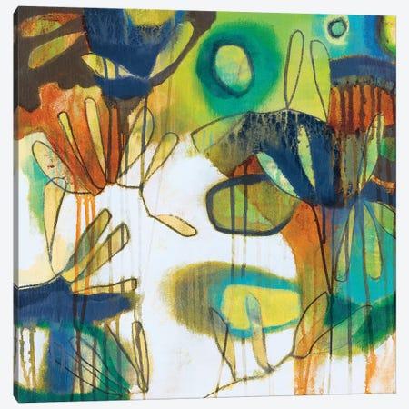 Tropical Burst I Canvas Print #WEB1} by Jennifer Weber Canvas Artwork