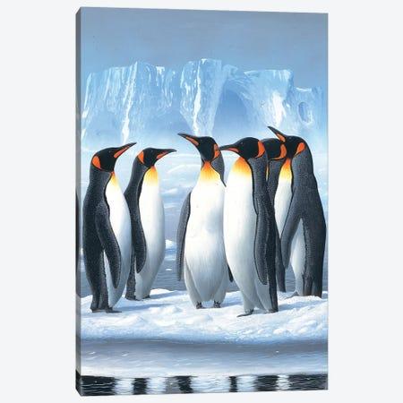 Penguins Canvas Print #WEE32} by Jan Weenink Art Print