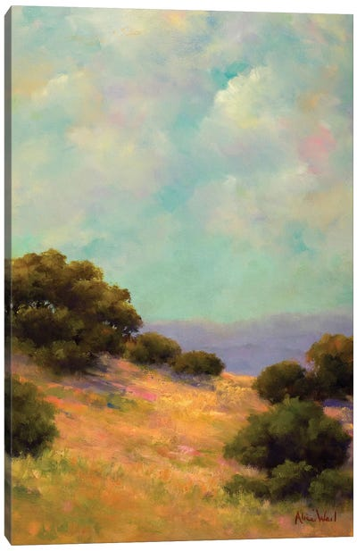 Spring Hill Canvas Art Print