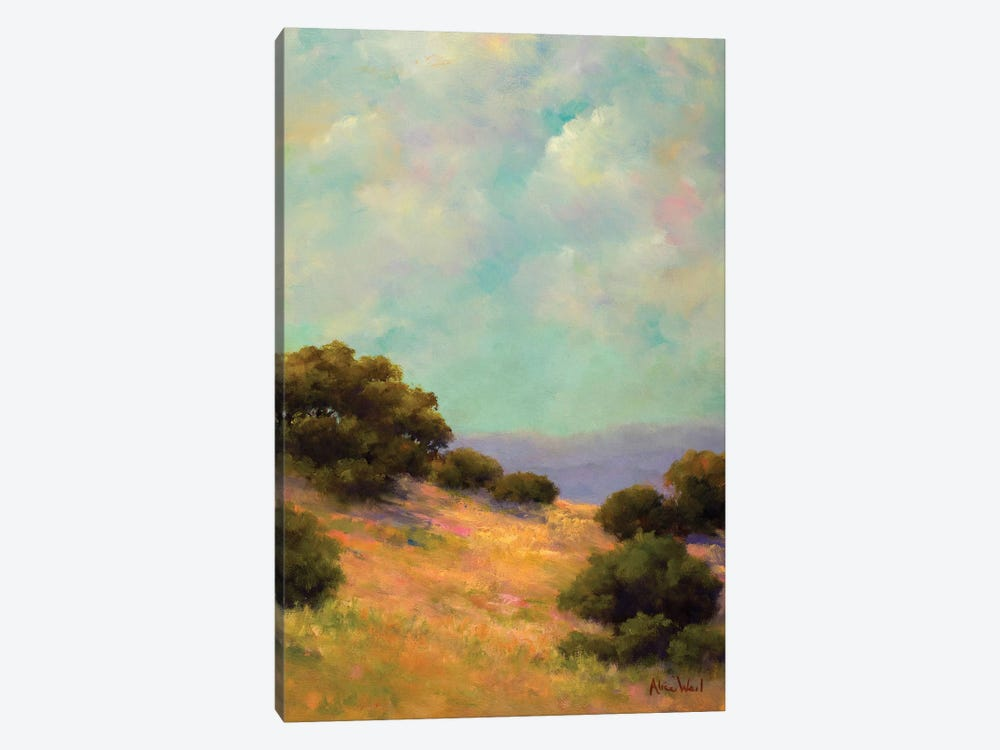 Spring Hill by Alice Weil 1-piece Canvas Art