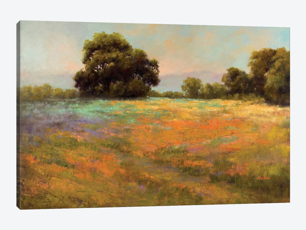 Spring Meadow by Alice Weil 1-piece Art Print