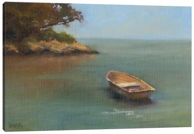 Harbored Dories II Canvas Art Print
