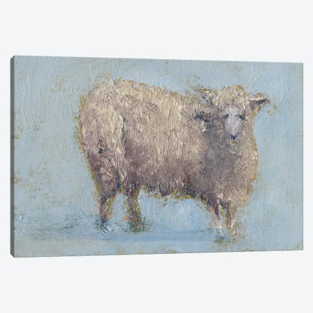 Sheep Strut I Canvas Print #WEN12} by Marilyn Wendling Canvas Wall Art