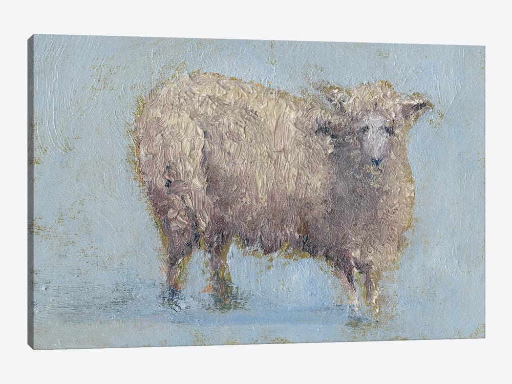Sheep Strut I by Marilyn Wendling 1-piece Canvas Artwork