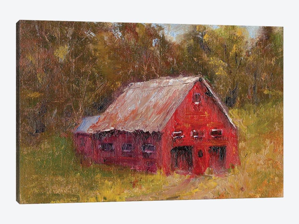 Back Road Barn II by Marilyn Wendling 1-piece Canvas Artwork