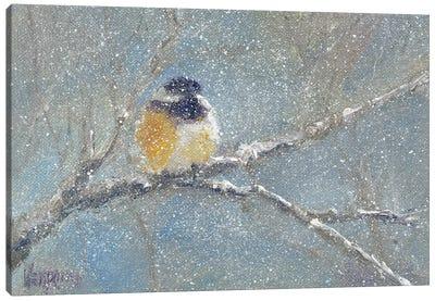 Chance of Snow I Canvas Art Print