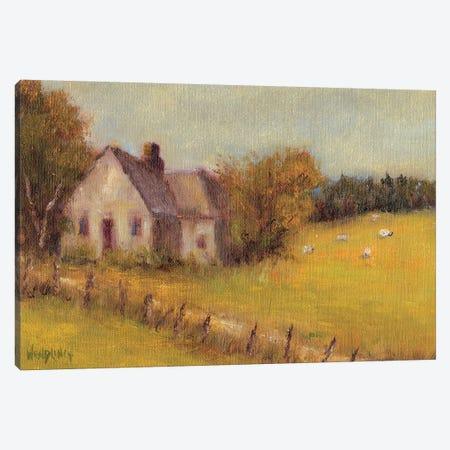 Cottage Meadow II Canvas Print #WEN20} by Marilyn Wendling Canvas Art Print