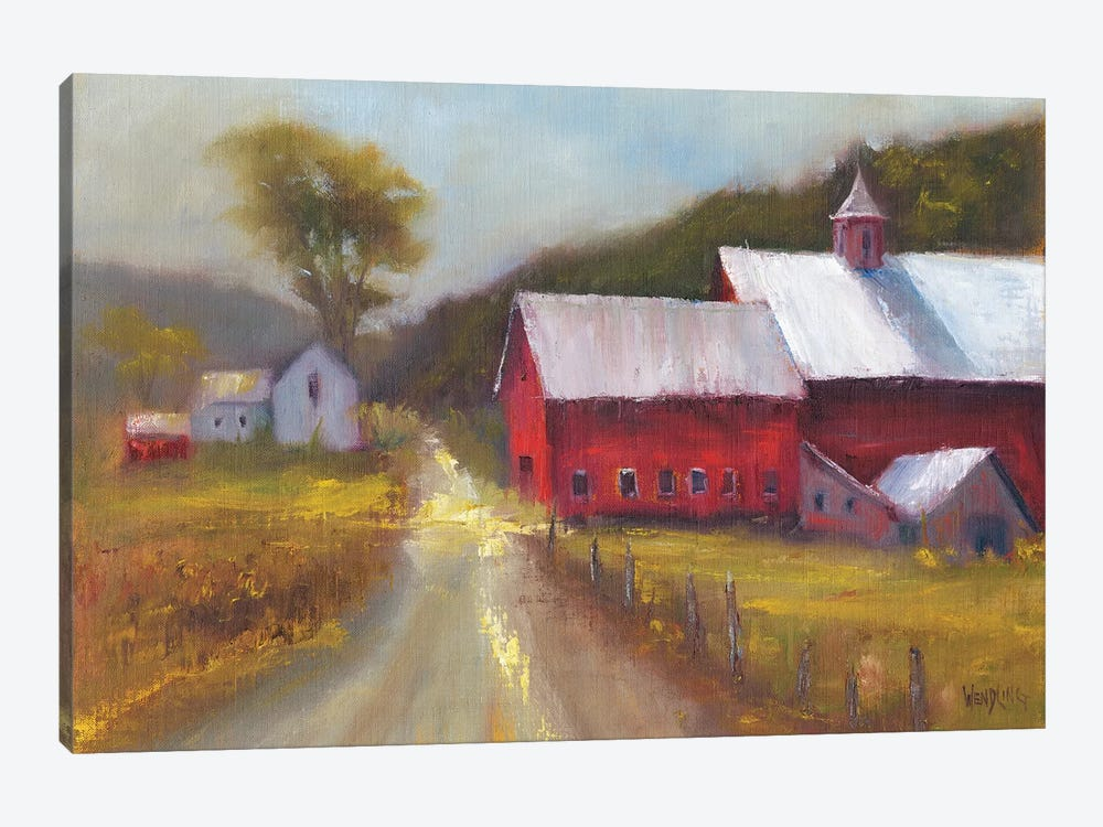 North Country II by Marilyn Wendling 1-piece Canvas Art Print