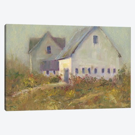 White Barn I Canvas Print #WEN25} by Marilyn Wendling Canvas Art