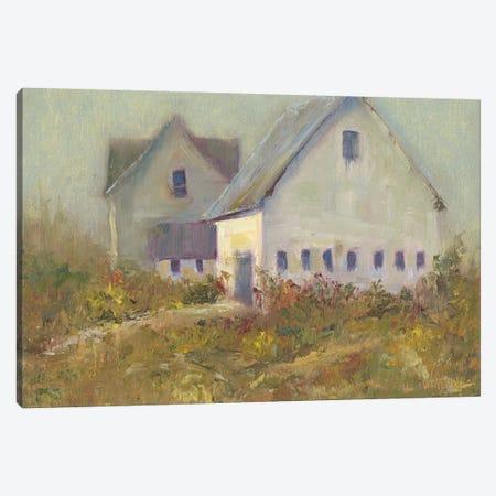 White Barn I Canvas Print #WEN25} by Marilyn Wendling Canvas Art