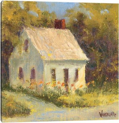 Sweet Cottage I Canvas Art Print