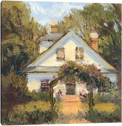 Sweet Cottage II Canvas Art Print