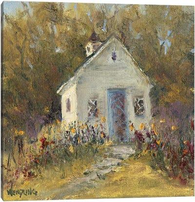 Sweet Cottage III Canvas Art Print