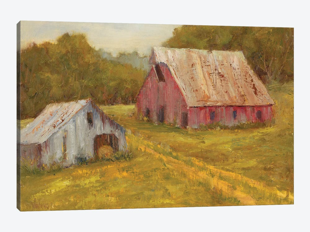 Country Barns by Marilyn Wendling 1-piece Canvas Art Print