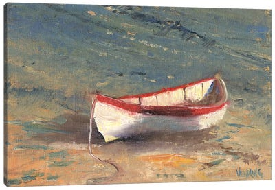 Beached Boat II Canvas Art Print