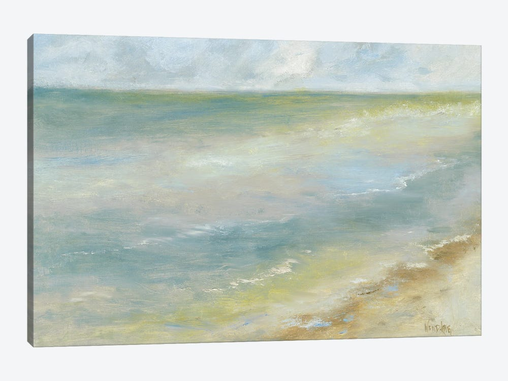 Ocean Walk I by Marilyn Wendling 1-piece Canvas Wall Art