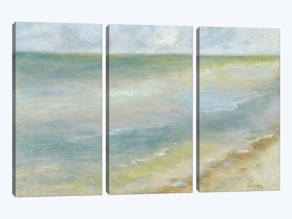 Ocean Walk I by Marilyn Wendling 3-piece Canvas Artwork