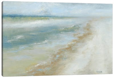 Ocean Walk II Canvas Art Print