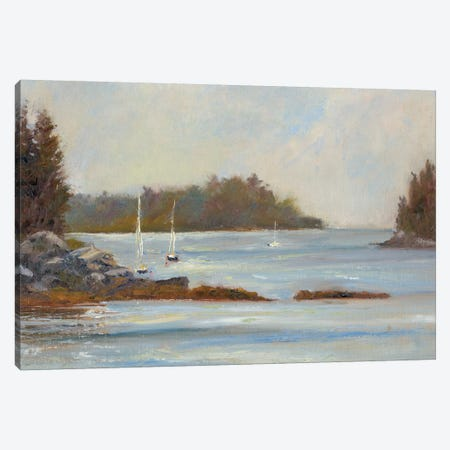 Safe Cove Canvas Print #WEN4} by Marilyn Wendling Art Print