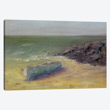 Tide's Rolling In Canvas Print #WEN6} by Marilyn Wendling Art Print