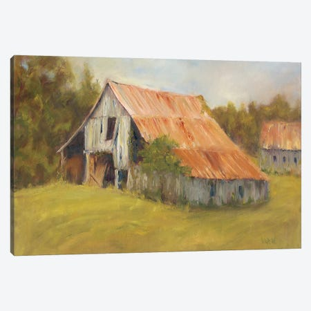 Tin Roof Canvas Print #WEN7} by Marilyn Wendling Canvas Print