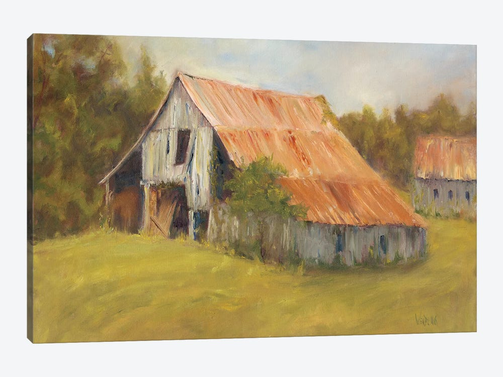 Tin Roof by Marilyn Wendling 1-piece Canvas Wall Art