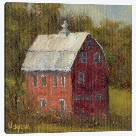 Country Road I Canvas Print #WEN8} by Marilyn Wendling Canvas Art