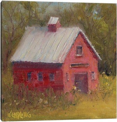 Country Road II Canvas Art Print
