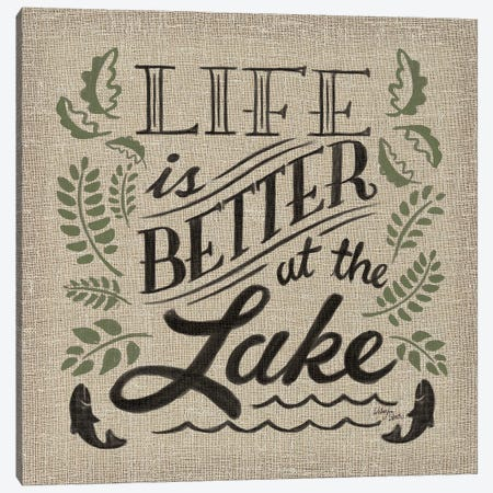 Lake Life I Color Canvas Print #WES4} by Wellington Studio Canvas Art Print