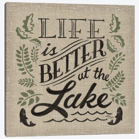 Lake Life I Color Canvas Print #WES4} by Wellington Studio Canvas Art Print