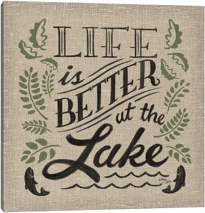 Lake Life I Color Canvas Art Print