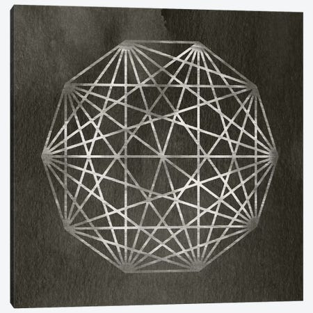 Modren Abstracts - Geometric Sphere Canvas Print #WEX5} by 5by5collective Canvas Wall Art