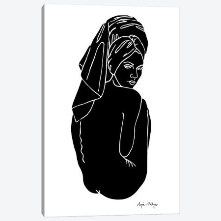 Kate Canvas Print #WEY17} by Anja Weyer Canvas Art