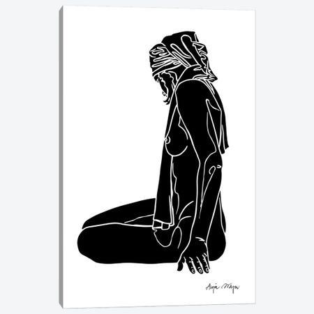 Lorelei Canvas Print #WEY20} by Anja Weyer Canvas Wall Art