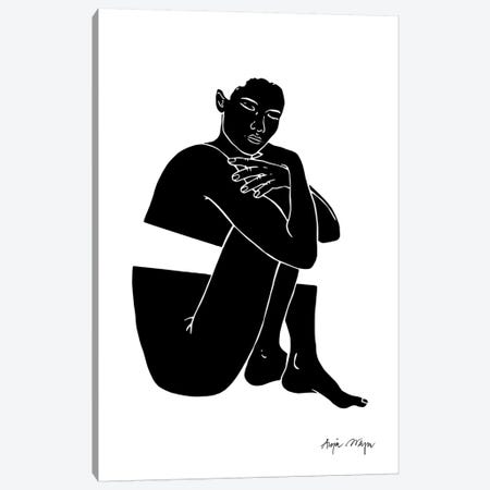 So What She Is Going To Get Over It Canvas Print #WEY25} by Anja Weyer Art Print