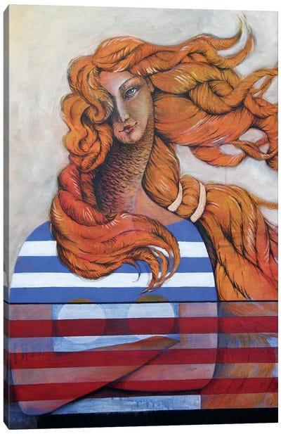 Venus In The Wind Kopie Canvas Art Print