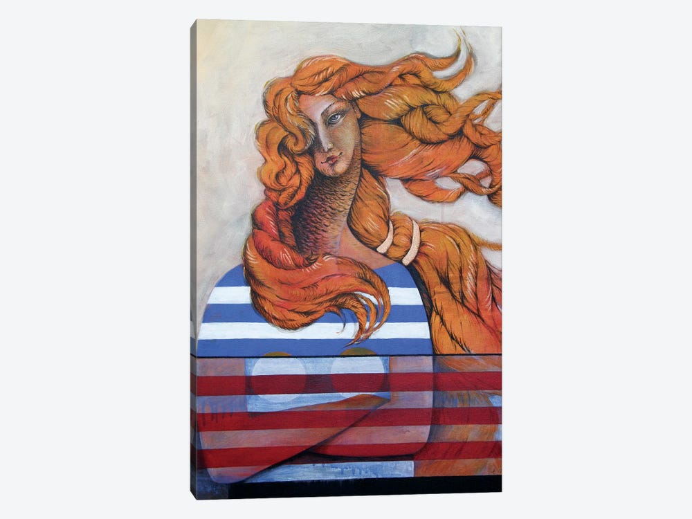 Venus In The Wind Kopie by Anja Weyer 1-piece Art Print