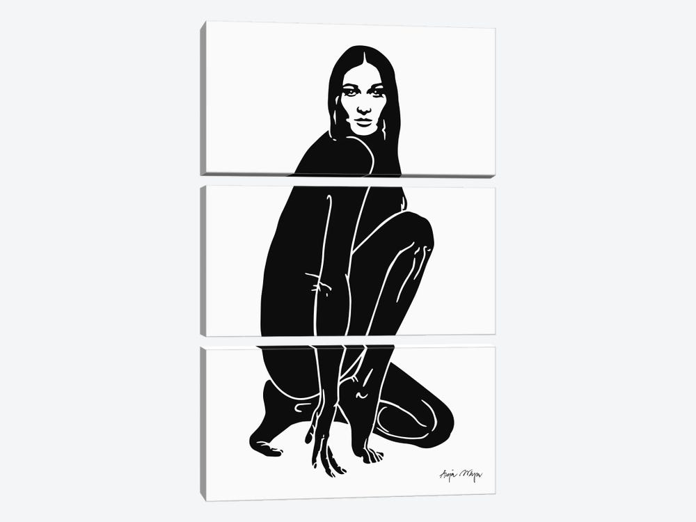 Carla by Anja Weyer 3-piece Canvas Art