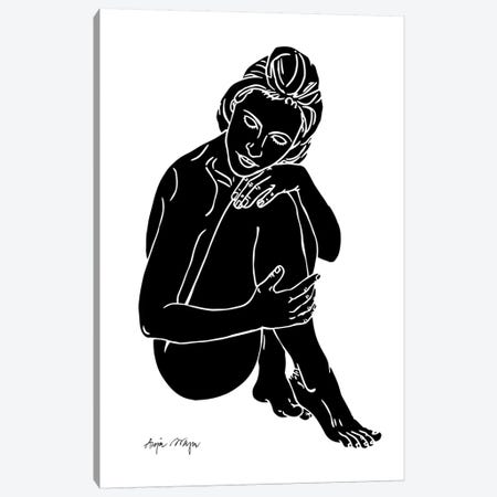 Cate Canvas Print #WEY5} by Anja Weyer Canvas Print