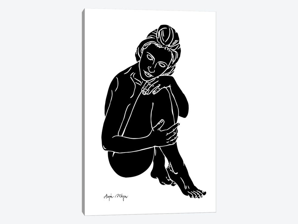 Cate by Anja Weyer 1-piece Art Print