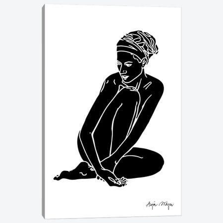 Christy II Canvas Print #WEY7} by Anja Weyer Art Print