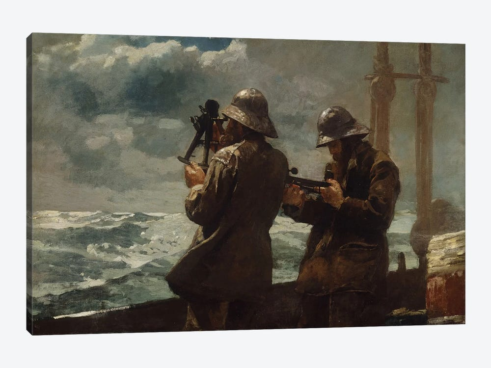 Eight Bells by Winslow Homer 1-piece Canvas Wall Art