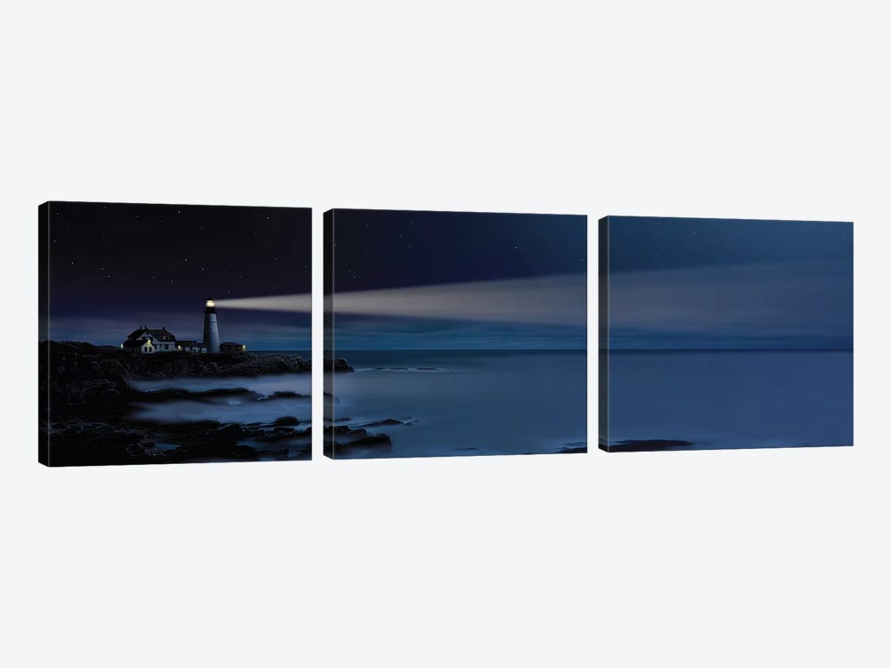 Nightwatch by Thomas Wiewandt 3-piece Canvas Print