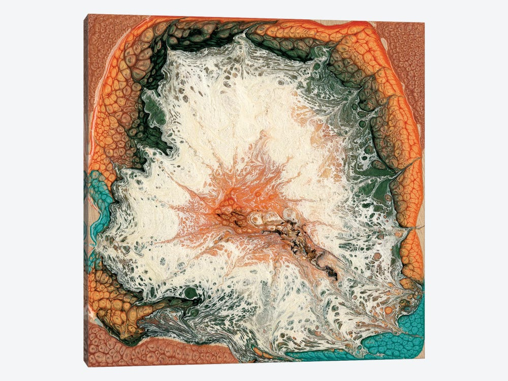 Caldera II 1-piece Canvas Print