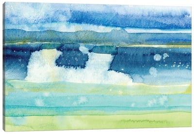 Gulf Shore I Canvas Art Print