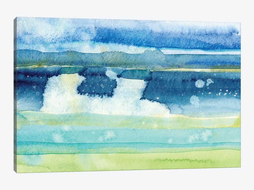 Gulf Shore I by Alicia Ludwig 1-piece Canvas Artwork